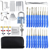 56Pcs Training Unlock Tool Skill Set 30Pcs Desbloqueio Lock Pick Set Extrator de chave