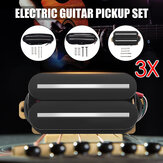 3PCS Hot Rail Humbucker Pickup Electric Guitar Neck/Middle/Bridge Pickup Ceramic