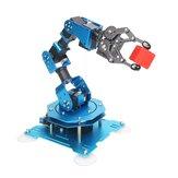 Hiwonder xArm 1S 5 DOF Gripper Metal RC Robot Arm Programmable Stick/APP Control With Servos