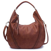 Women Pu Leather Vintage Handbag Shoulder Bag
