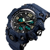 SKMEI 1155B Military Camouflage Waterproof Multi-function Outdoor Dual Digital Watch