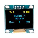 3 szt. 0,96-calowy niebieski żółty IIC I2C OLED moduł wyświetlacza
