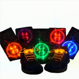 LED Shoelace Night Running ضوء Up Safety Shoestring Multicolor Light Shots