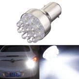 1 Pcs 0.8 W 1157 BAY15D 12 LED Car Brake Turn Stop Stop Luzes Da Lâmpada Lâmpada DC 12 V Branco