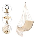 Outdoor Indoor Cotton Rope 150kg Bearing Camping Traveling Hamac Hanging Swing Hamac Chair