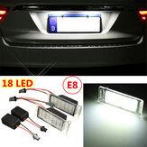2x lâmpada de luz livre 18 LED placa de licença número SMD erro para cruze Chevy Camaro