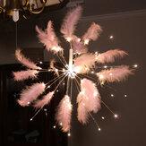 Cordondefeud&#39;artificeàLED suspendu Starburst fée bande Light Wedding Party Décorations pour la maison