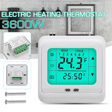 LYK-109 3600W Electric Floor Heating Electric Heating Thermostat AC 230V