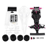 CN CR-F113P Fibra De Carbono 1/10 2WD F1 Corrida Elétrica Poder On Road RC Car Kit Quadro Chassis