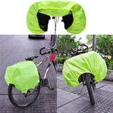 BIKIGHT Waterproof Rain Cover Coat For Cycling Bike Bicycle Motorcycle Rear Seat Carrier Bag Rack Pa