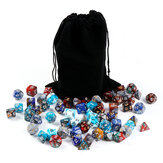 77/84/98Pcs Polyhedral Dices Dungeons & Dragons DND Desktop Games Dice With Storage Bags