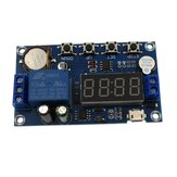 DC 5V Real time Timing Delay Timer Relay Module Switch Control Clock Synchronization Multiple mode Control