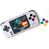 Pocket Go Allwinner F1C100S Linux Handheld Game Console 1000 mAh recarregável Game Player com cartão 32GB Micro SD