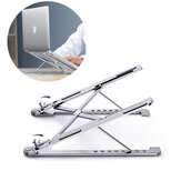 Aluminum Alloy Tablet Bracket Mount Foldable Portable Laptop Stand Holder Rack Pad Holder