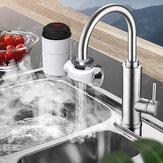 3000W 220V Elektrikli Anında Isıtıcı Musluk Musluğu LED Ekran Sıcak Su Mutfak