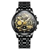 NEKTOM 8202 Luminous Date Display Quartz Watch