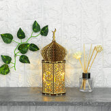 DIY LED Night Light Lantern Lamp Islam Battery Powered Hanging Decoration Eid Mubarak Ramadan