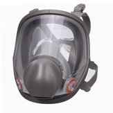 Gjenbrukbar 6800 Full Face Gas Mask Spraying Maleri Respirator Silikon Facepiece
