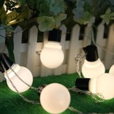 KCASA CSL-3 Halloween Light Gardening 5M 20 LED String Light Blub Shape Holiday Garden Wedding Party Decoration