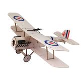 Dancing Wings Hobby SE5A 378mm Wingspan Balsa Wood Laser Cut Biplane RC Airplane