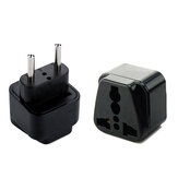 IPRee® Universal US/EU Plug Adapter American European Power Plug Adapter AU EU to US UK USA Adapter Plug Travel Plug Converter