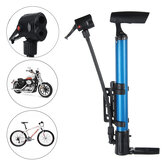 120PSI High Pressure Air Pump Alloy Floor Standing Bike Motorcycle Tyre Pump with Ball Pin