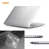 Enkay 3-In-1 Ultra-Thin TPU Keyboard Protective Film + Full Body Matte Case Cover + Dustproof Plug for MacBook Pro 13 inch EU Version A2289 / A2251 Accessories