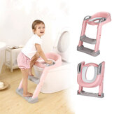 Kids Foldable Auxiliary Toilet Ladder Infant Baby Step Ladder Folding Toilet Child Toilet Ring Supplies