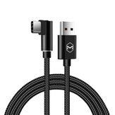 Mcdodo 5A 90 Degree Angle Type C Fast Charging Data Cable 1M For Oneplus 6 Xiaomi Mi8 Mix 2S S9
