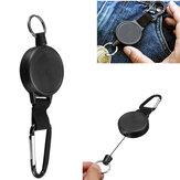 EDC Portable Retractable Keychain Outdoor Pocket Carabiner Anti-lost Gadget