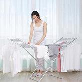 Secador de tela eléctrico plegable portátil de 230 W, estante de secado termostático para ropa, estante de aleación de aluminio para el hogar