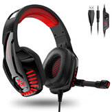 Hunterspider V-6 Gaming Headset Computer Hoofdtelefoon LED Lichtgevende Headset Surround Sound Bass RGB Game Met Microfoon