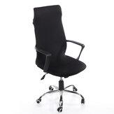 Capa para cadeira de escritório Protetor de cadeira extensível removível poltrona giratória capa elástica de assento para decoração de cadeiras de escritório
