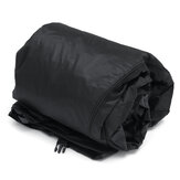 16-18ft/17-19ft/20-22ft/22-24ft 210D Black Heavy-Duty Center Console T-Top Roof Boat Cover