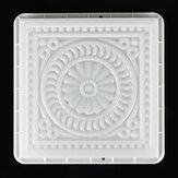 32x32cm piazza percorso creatore di plastica fai da te muffa pavimentazione in pietra cemento stampo in mattoni