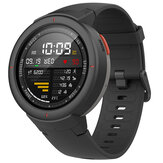 Versi Asli Amazfit Verge Internasional AMOLED IP68 Bluetooth Memanggil GPS + GLONASS Smart Watch
