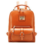 PU Leather Vintage Women Backpack Student School Bags Travel Rucksack