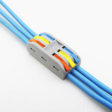 PCT-3 3Pin Colorful Docking Connector Elektrische Steckverbinder Kabelklemmenblock Universeller elektrischer Kabelverbinder