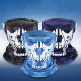 WEST BIKING Ice Silk UV400 Sun Protection Riding Face Mask Breathable Ice Silk Scarf With Strong Elasticity Reflective At Night