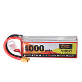 ZOP Power 14,8 V 4000 mAh 100C 4S Bateria Lipo XT60 Wtyczka do drona RC Racing