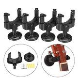 4 قطع الغيتار القيثارة باس جدار جبل شماعات Stand Holder خطاف عرض الصوتية الكهربائية باس