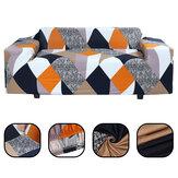 Capa elástica para sofá de 1/2/3/4 lugares Protetor de assento de cadeira universal Sofá Caso Capa elástica para móveis de escritório doméstico