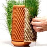 Automata öntözés virágcserép barkácsolás növényi adagolók kerámia hidroponikus palack beltéri kültéri kerti kézműves növény zamatos váza