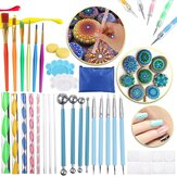 36 Pcs DIY Mandala Dotting Tools Rock Painting Kits Dot Art Pen Paint Stencil