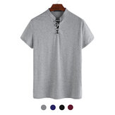 Men's Short Sleeve Slim Casual T-Shirts Comfortable Quick Dry Tops Camping Hiking Fitness Sport