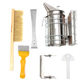 6Pcs Beekeeping Tools Kit Bee Hive Roker Bee Keeping Beekeeping Accessory