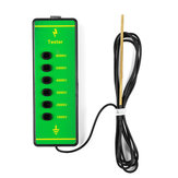 Farm ABS Voltage Tester Pen Electric Fencing Digital Fence 1000V-6000V Measuring Tester with Probe