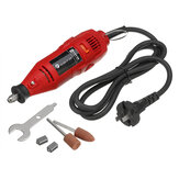 130W Mini Corded Electric Grinder Rotary Tools Kit  Portable Drill Milling Engraved  Polishing Sand Grinder