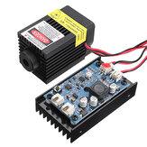 LA03-3500 450 एनएम 3.5W ब्लू लेजर मॉड्यूल टीटीएल मॉड्यूलेशन फैन हीट सिंक EleksMaker DIY एनग्रावर के लिए
