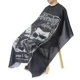 Impermeable Cabello Corte Cabello Delantal de peluquería Abrigo de capa de peluquero de salón Cabello Paño de tocador